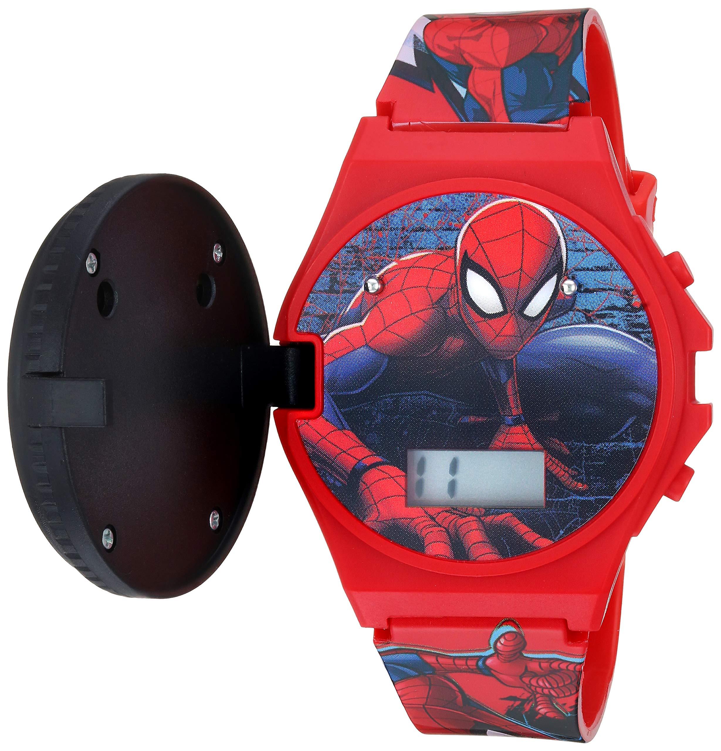 Marvel Quartz Watch with Plastic Strap red 19 (Model: SPD4483)