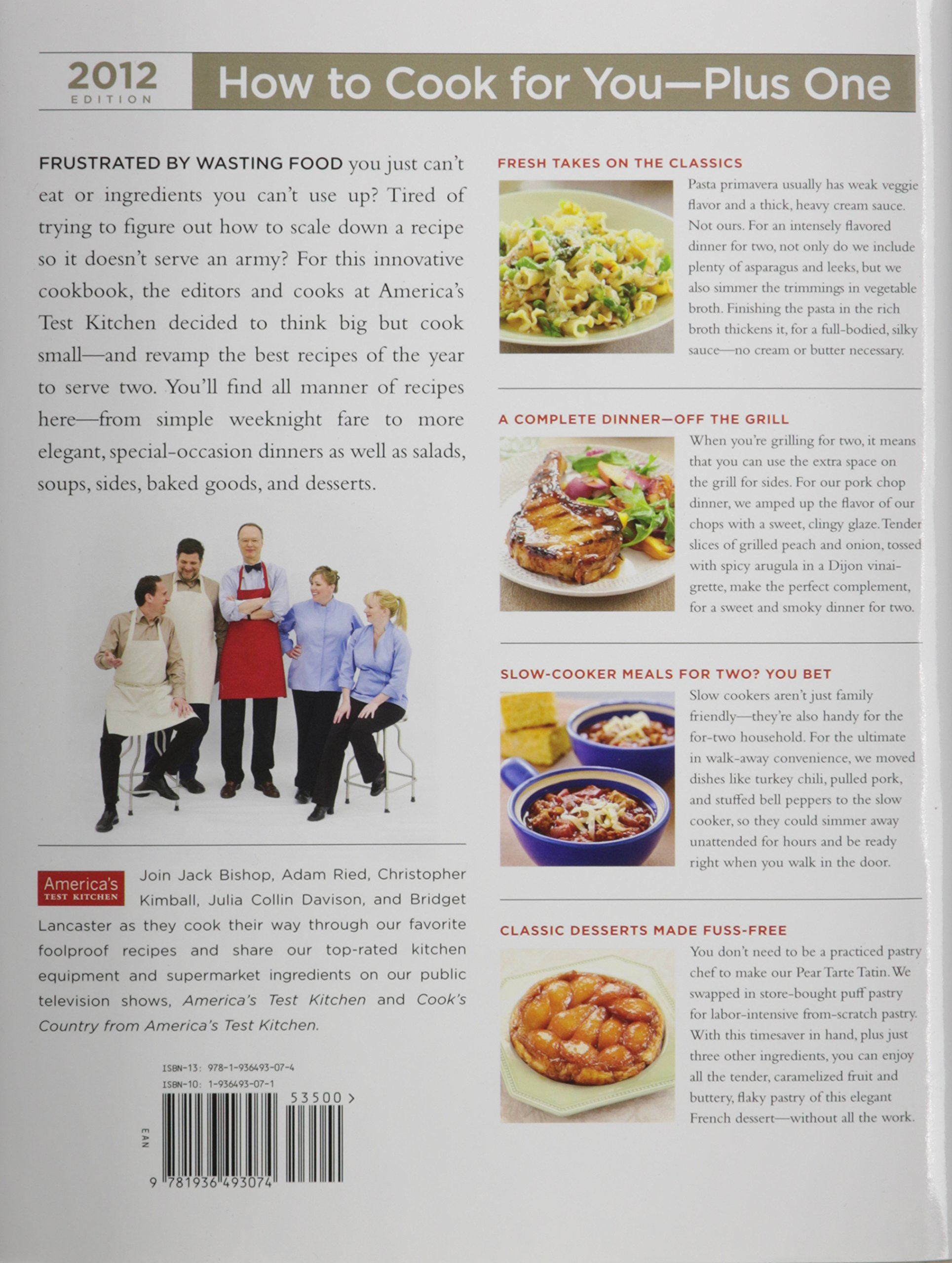 Country Cooks Test Kitchen Cooking For Two 2012 Americas Test Kitchen Editors At