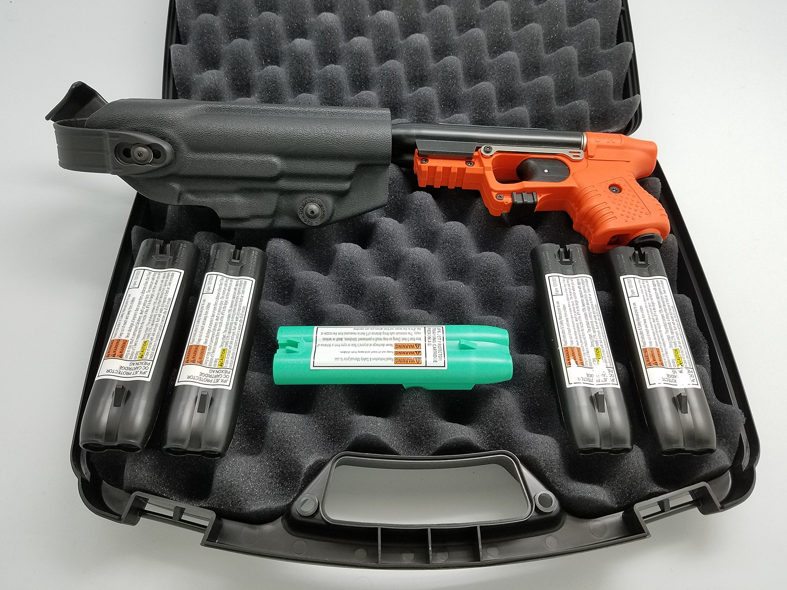 FIRESTORM JPX 2 Shot Deluxe Pepper Spray Gun Bundle