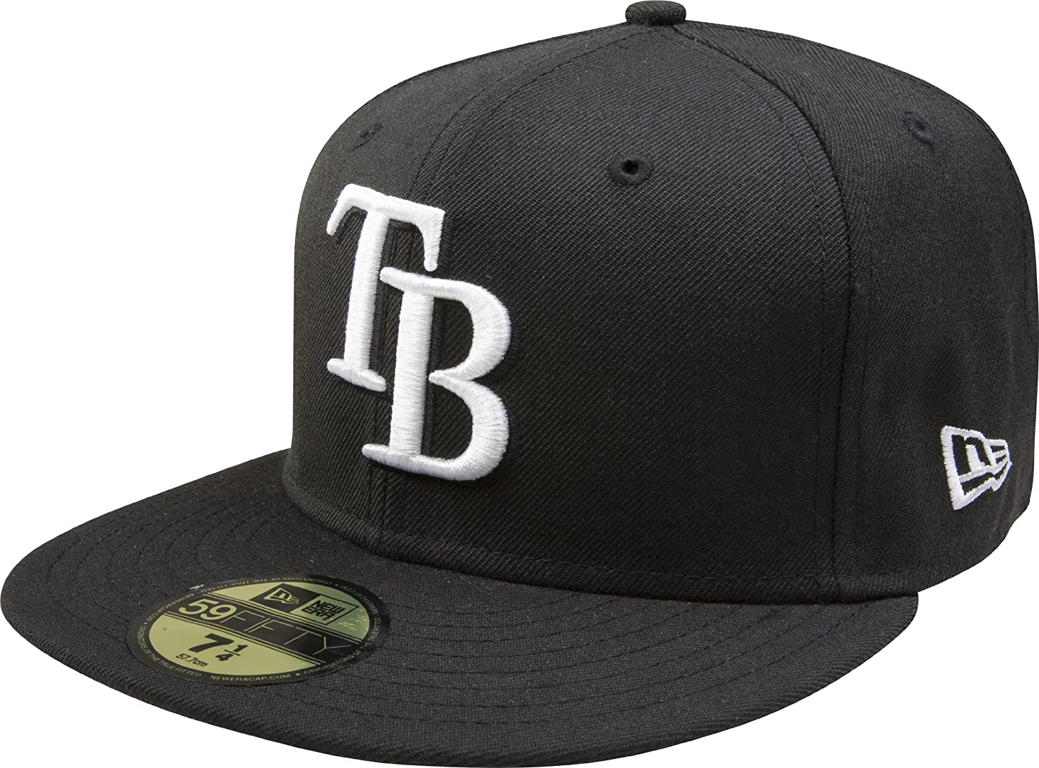 sale usa online huge selection of thoughts on Amazon.com : MLB Tampa Bay Rays Black with White 59FIFTY Fitted ...