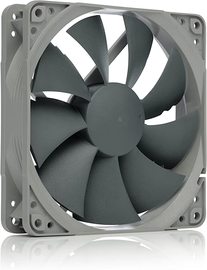 Noctua Nf P12 Redux 1700 Pwm High Performance Cooling Fan 4 Pin 1700 Rpm 120mm Grey Amazon Co Uk Computers Accessories
