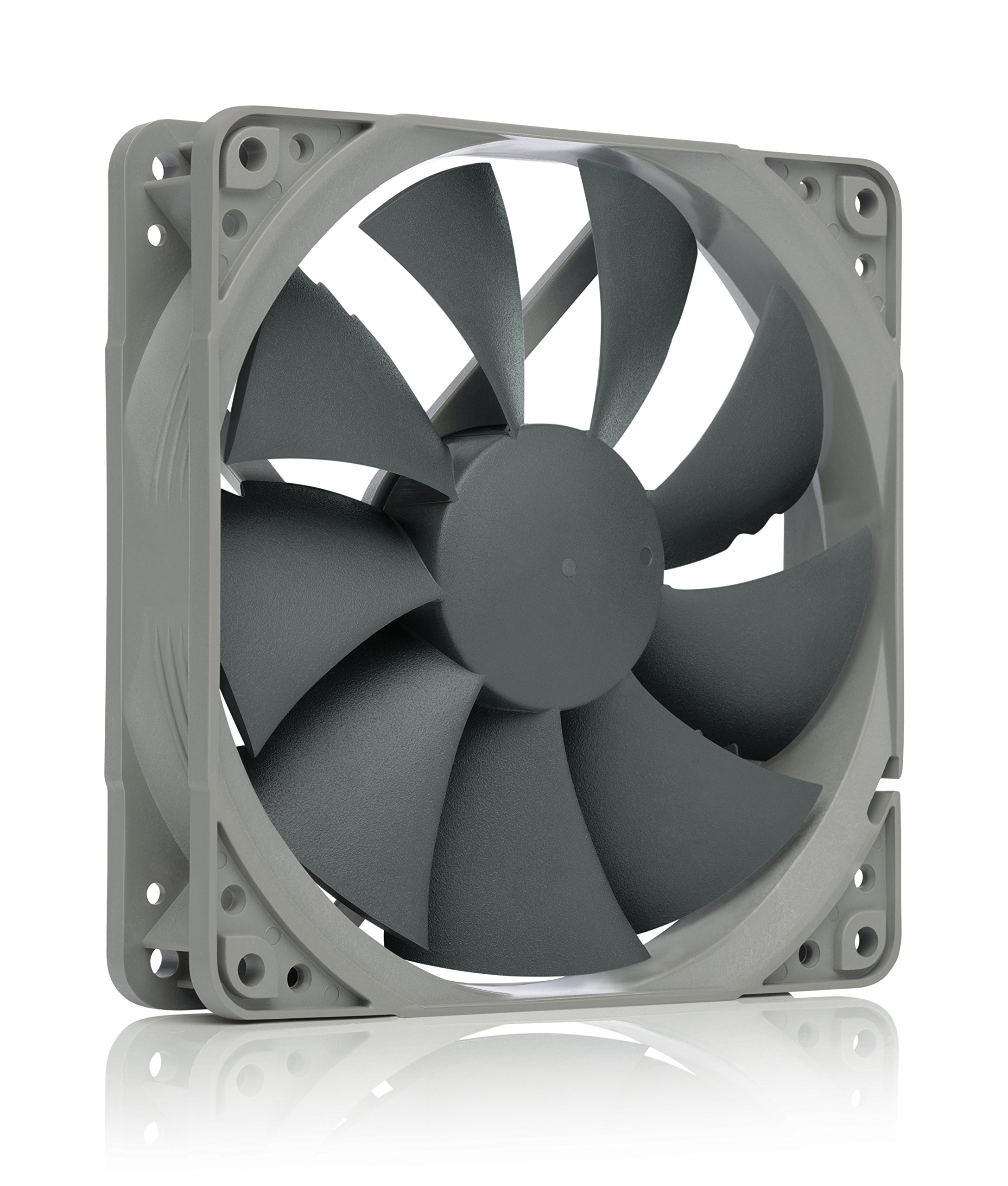 noctua NF-P12 redux-1300 high-performance quiet 120mm fan, ideal for PC cases, CPU heatsinks and water cooling radiators, award-winning premium model in affordable grey redux edition