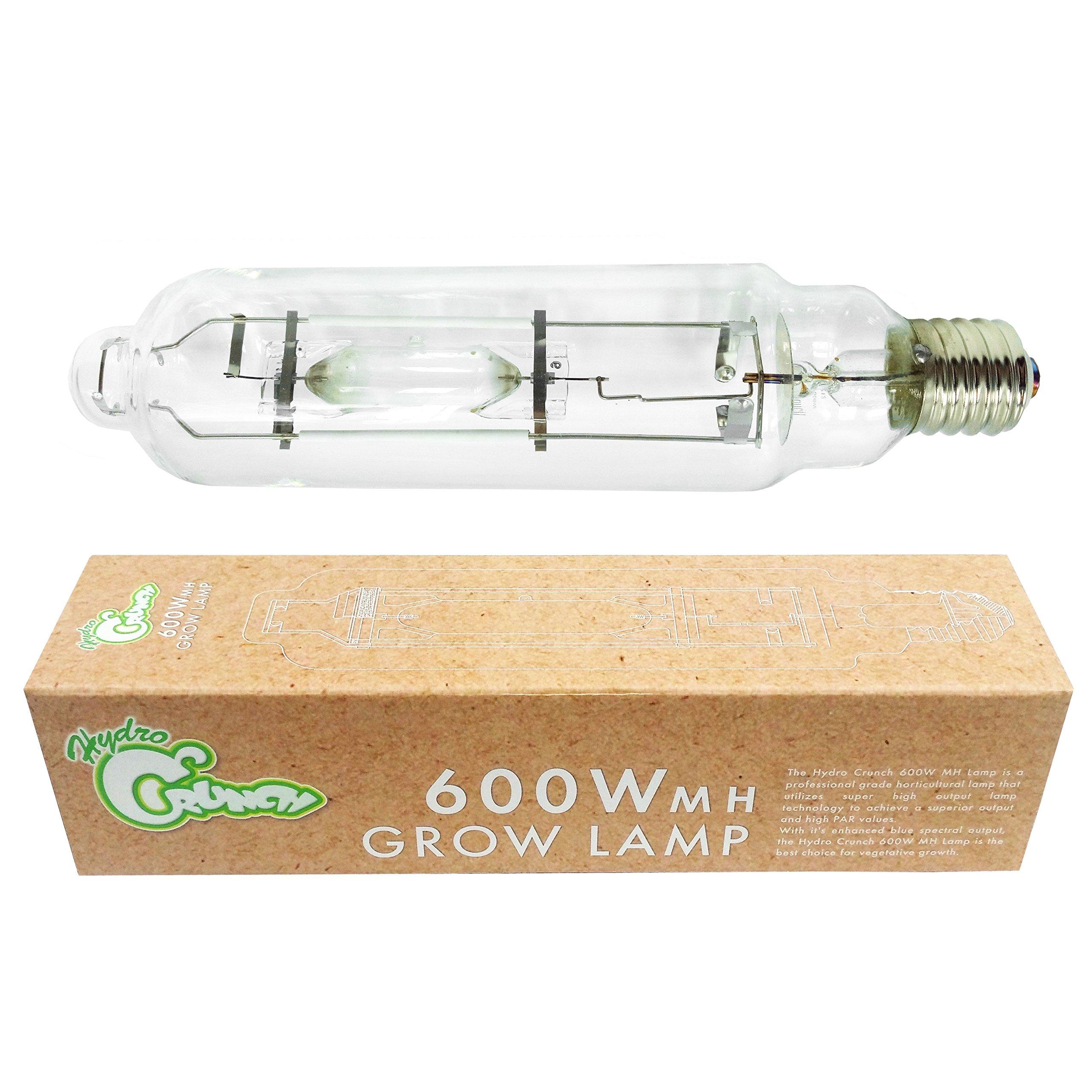 Hydro Crunch 600-Watt Metal Halide MH Grow Light Bulb Lamp
