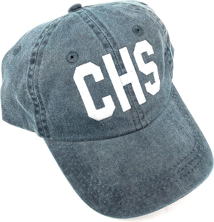 Custom Embroidered CHS Charleston International Airport Code