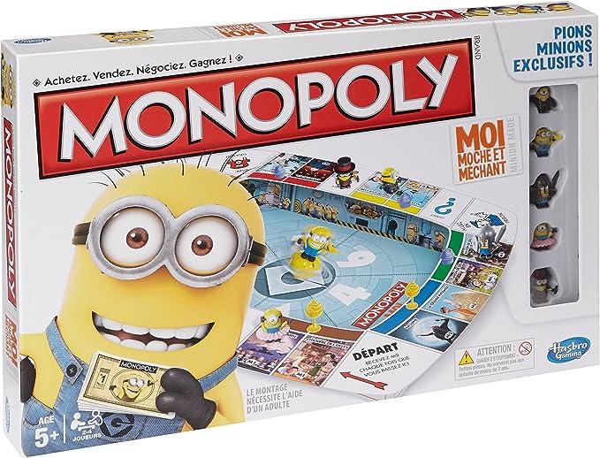 MINIONS - Monopoly, Juego de Mesa (Hasbro A25744470) (versión en ...