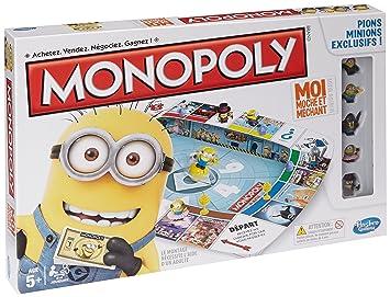 Minions Monopoly Juego De Mesa Hasbro A25744470 Version En