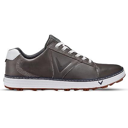 2ee0d91d3b7727 Callaway Golf Mens 2018 Delmar Retro Golf Shoes  Amazon.co.uk  Shoes ...