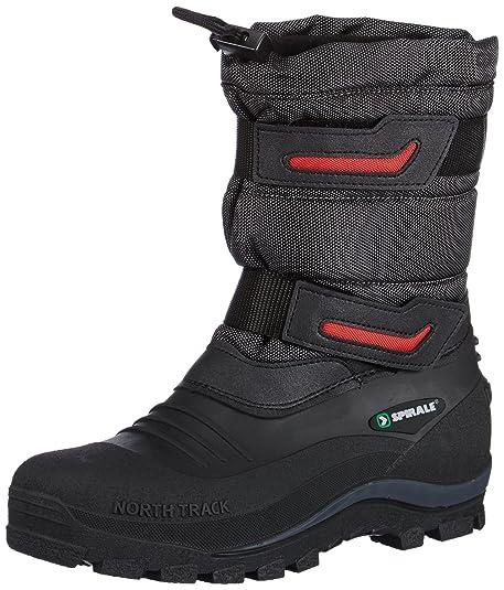 SpiraleMatti - botas de nieve cn forro y caña corta hombre, color gris, talla 47