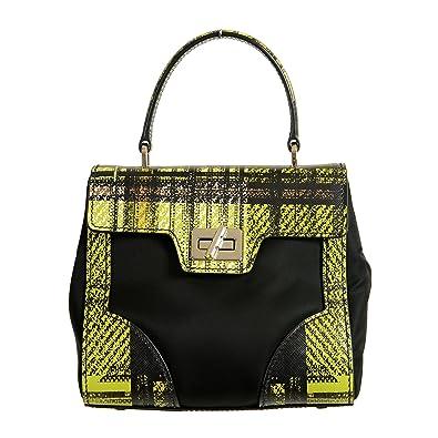 20f6e0e75f8a58 Prada Leather Multi-Color Women's Handbag Shoulder Bag: Handbags: Amazon.com