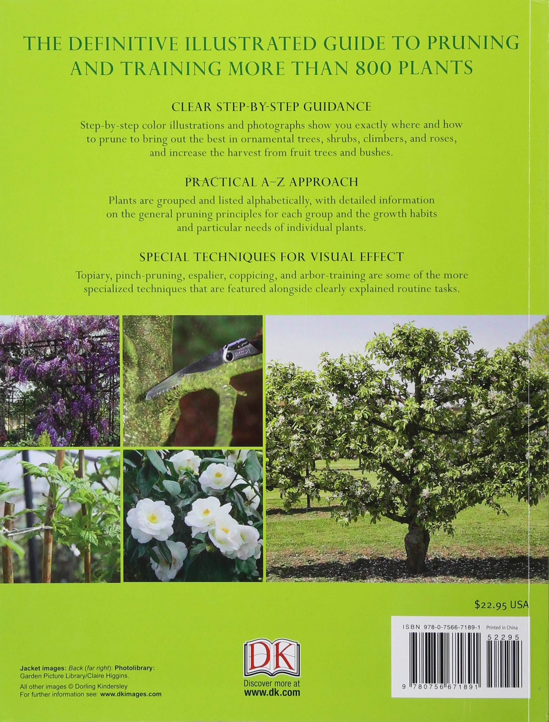 American Horticultural Society Pruning and Training: Christopher ...