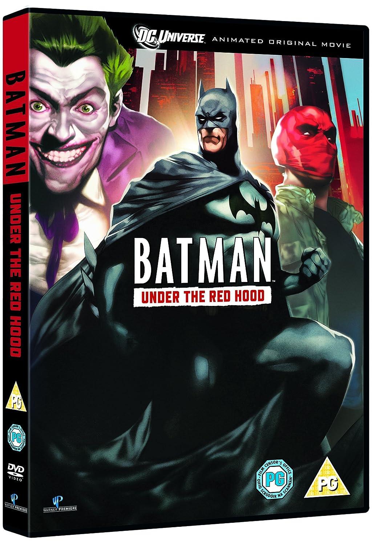 Batman Under The Red Hood DVD 2010 Amazoncouk Bruce Greenwood John DiMaggio Jensen Ackles Jason Isaacs Neil Patrick Harris Blu Ray