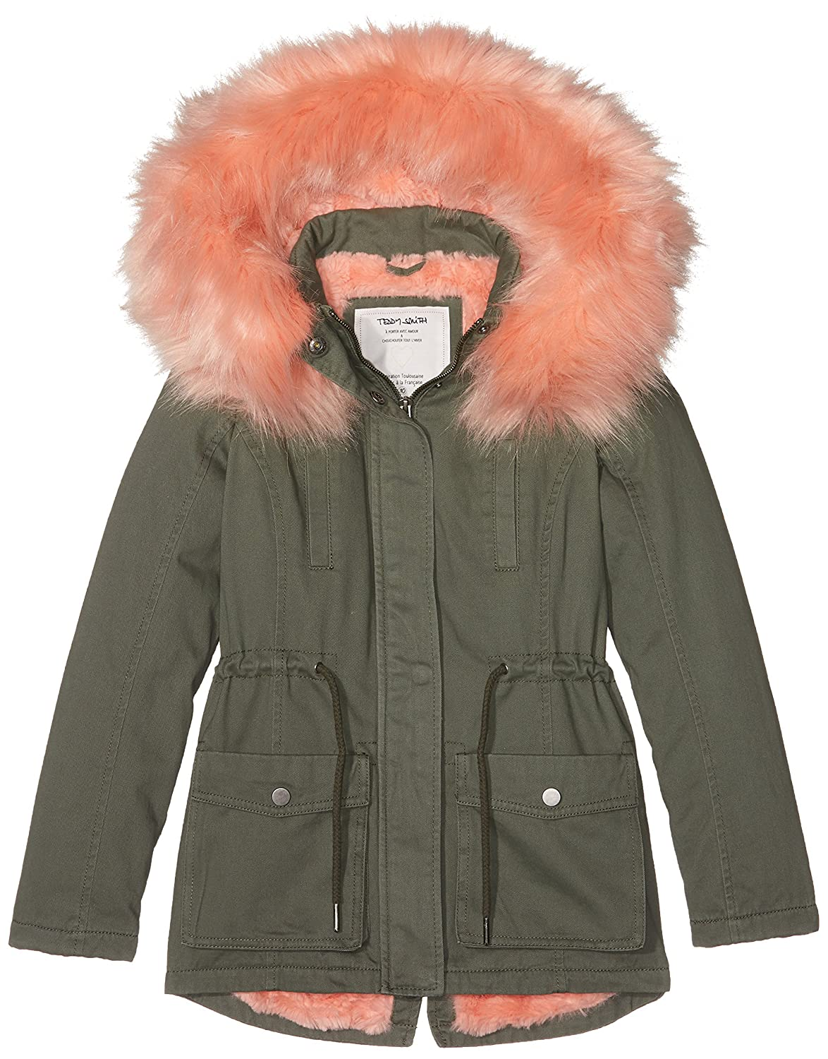 Teddy Smith Girl's Pauryle Jr Coat 51805628D
