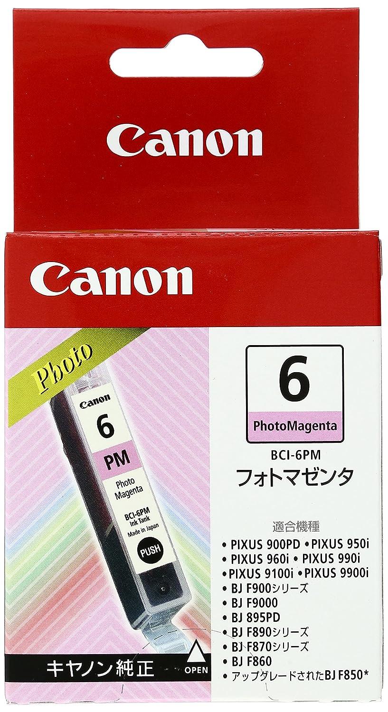 amazon canon 純正インクカートリッジ bci 6 フォトマゼンダ bci 6pm
