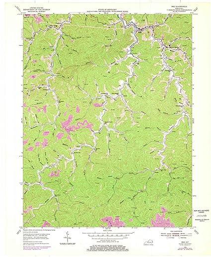Amazon.com: Kentucky Maps | 1954 Inez, KY USGS Historical ... on irvine ky map, harlan county kentucky map, campbellsville kentucky map, city map, kuttawa ky map, independence ky map, martin co kentucky map, kermit wv map, louisa ky street view map, wheelwright ky on kentucky map, irvington ky map, jamestown ky map, liberty ky map, ky county map,