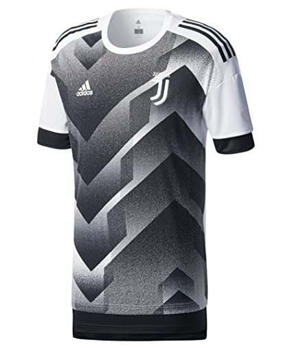 Amazon.com : adidas 2017-2018 Juventus Pre-Match Training Football ...