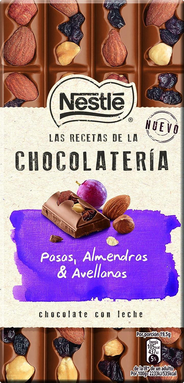 NESTLÉ Les Recettes de LAtelier - Chocolate con Leche Pasas ...