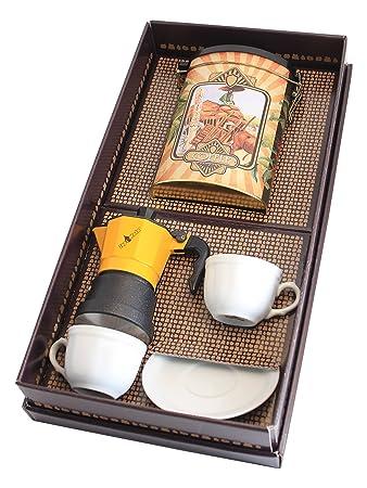 Préférence Confezione regalo con moka e set tazzine Foschi: Amazon.it: Casa e  DC51