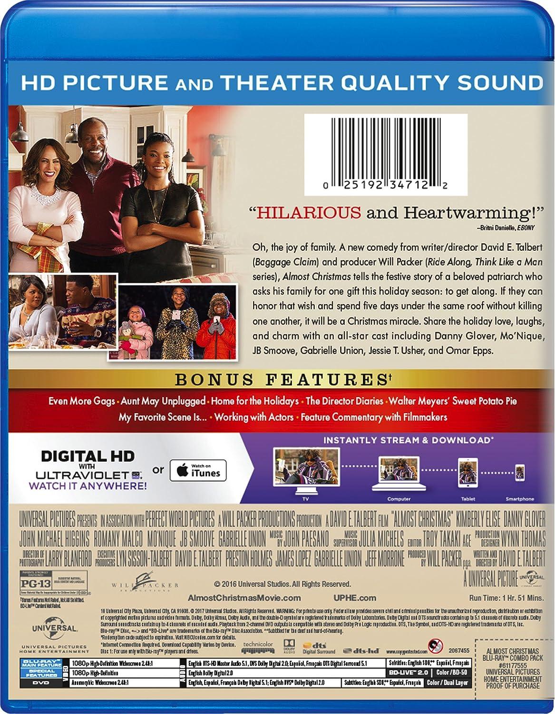 Amazon.com: Almost Christmas [Blu-ray]: Kimberly Elise, Danny ...