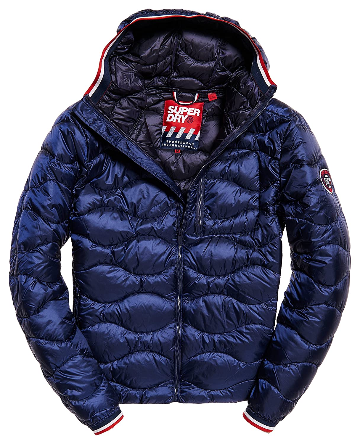 Superdry Men's Quilt Hooded Jacket M50000DQ