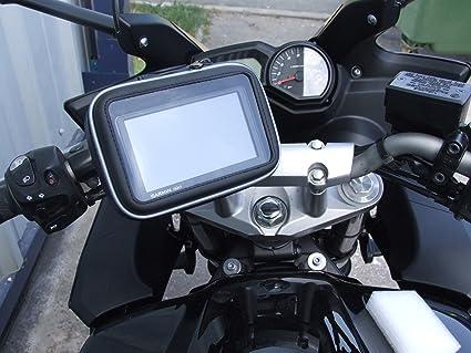 NAVITECH - Soporte y funda protectiva impermeable para sistema GPS para bici /bicicleta/moto