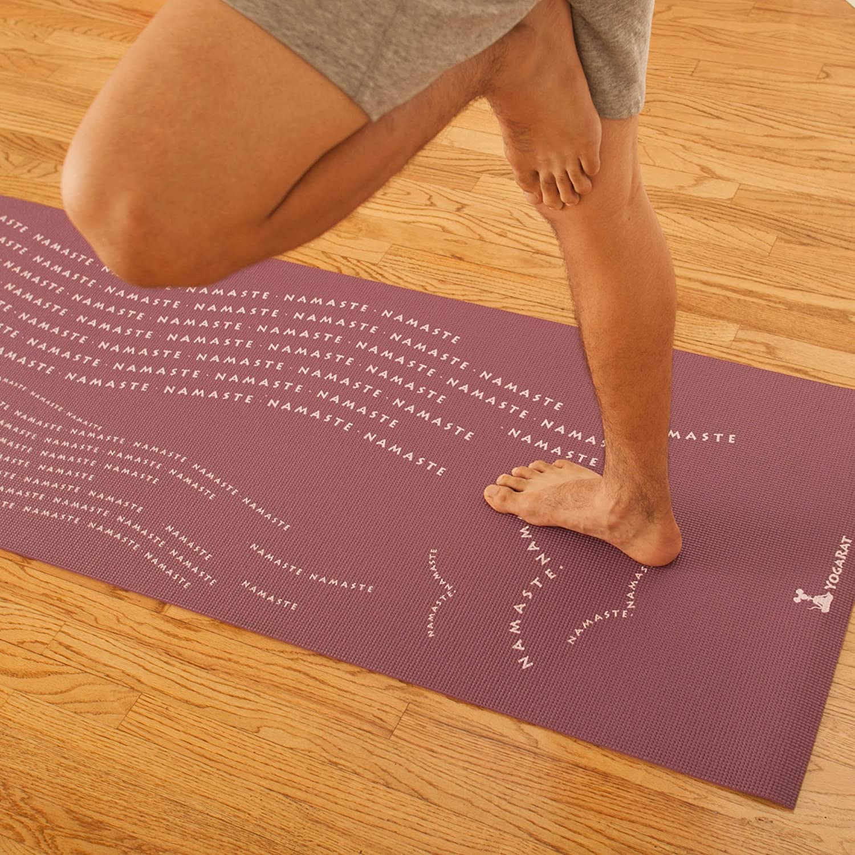 Thick /¼ Phthalate Free Mats RatMat /& Yoga Towel Bundles Available 100/% Microfiber Yoga Towels YogaRat RatMat Yoga Mats Option to Purchase With Yoga Towel Classic or Gummy Grip Yoga Towel Mat Sets