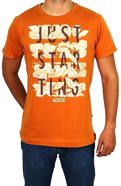 Coronel Tapiocca Camiseta de Manga Corta Basic para Hombre aakSEOv