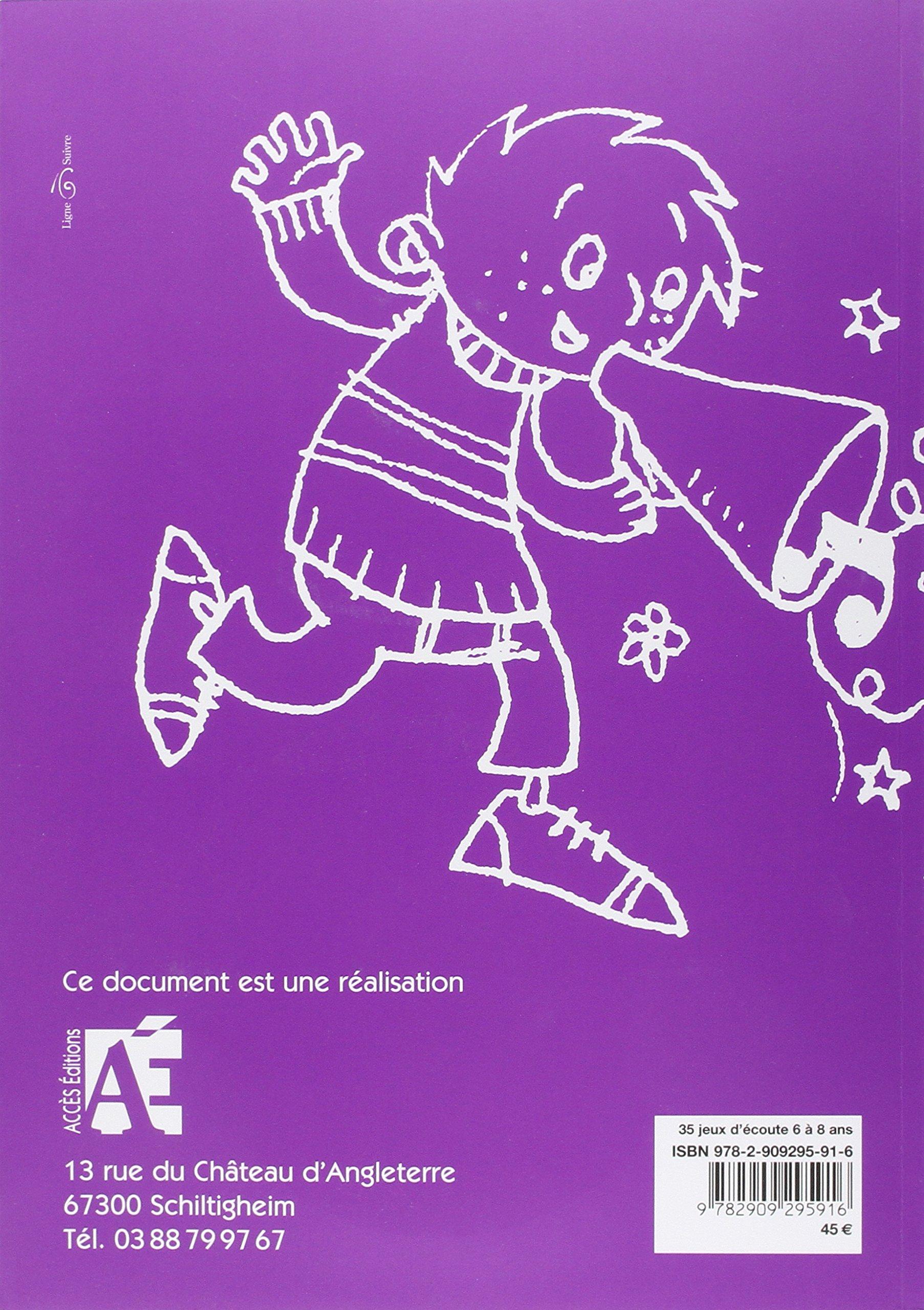 35 jeux d'écoute 6 à 8 ans (+2CD audio): Amazon.fr: Claire Marot,  Marie-Christine Van Hee, Françoise Vroman: Livres
