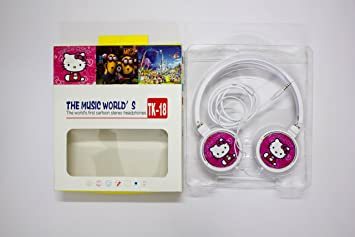 Buy Shopkooky Hello Kitty Headphones for Boy s and Girl s Online at ... d01c234767222