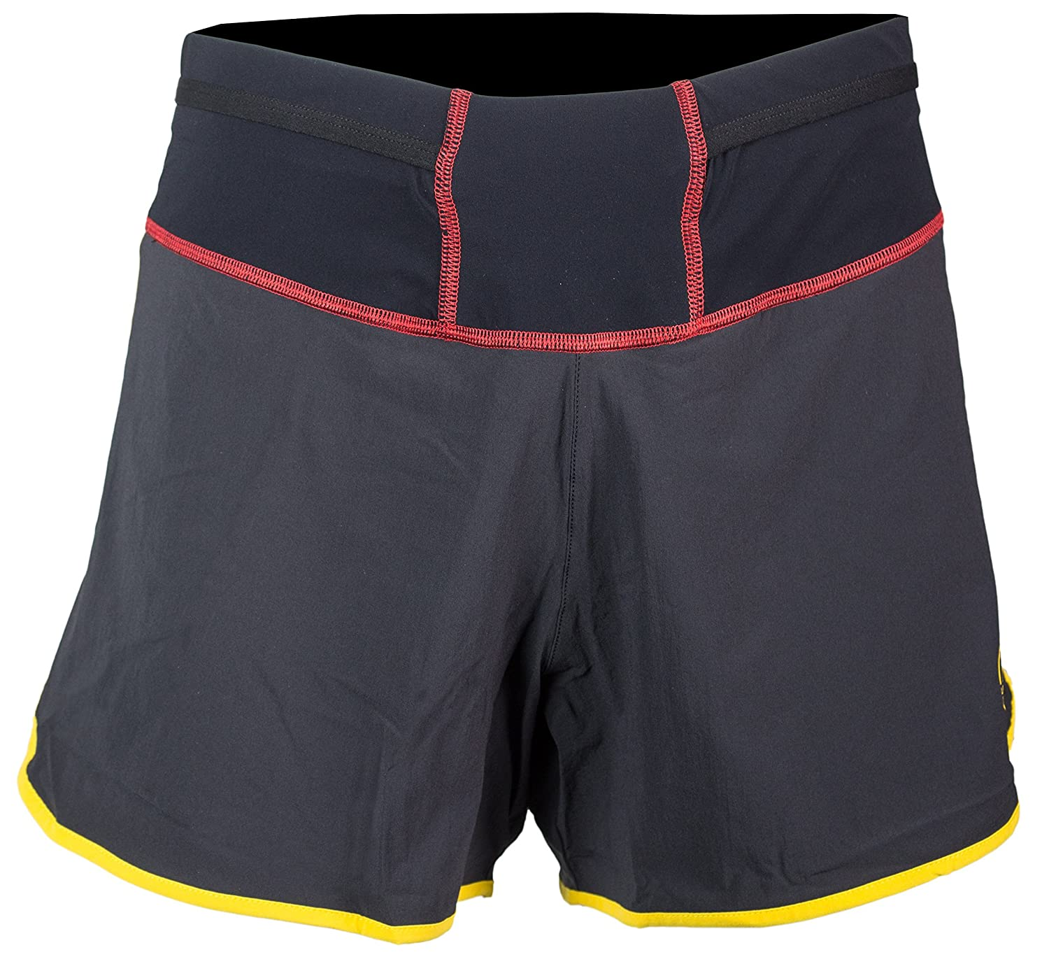 La SportivaメンズRush Running Short – Trail running shortsメンズの4インチ XS ブラック B01IRDJCXC