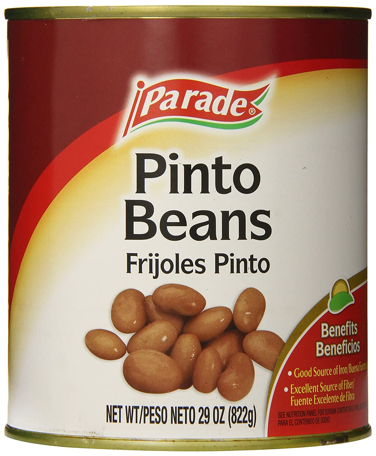 Amazon.com : Parade Pinto Beans, 29 Ounce (Pack of 12) : Grocery & Gourmet Food