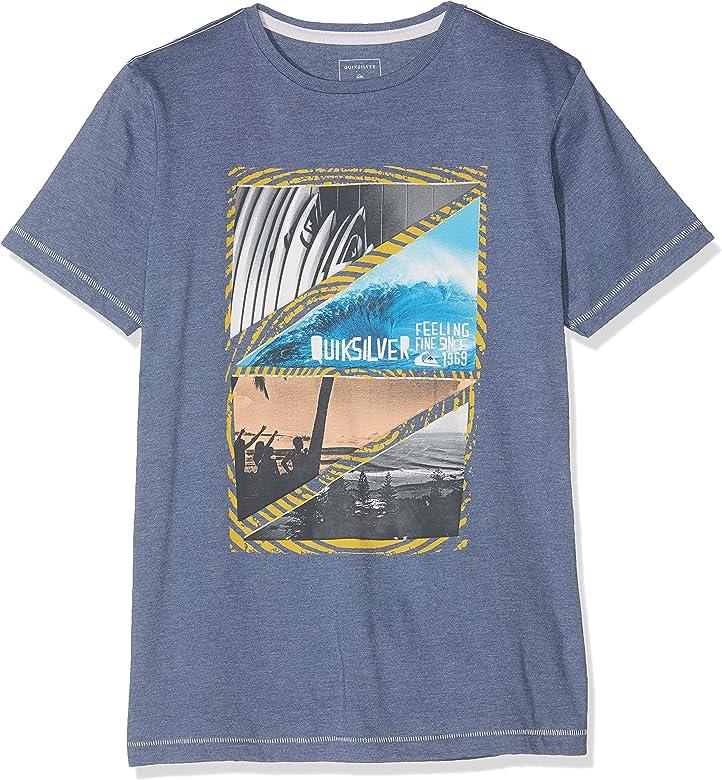 Quiksilver Youth Dream Camiseta, Niños, Azul (Bijou Blue Heather), XS: Quiksilver: Amazon.es: Ropa y accesorios