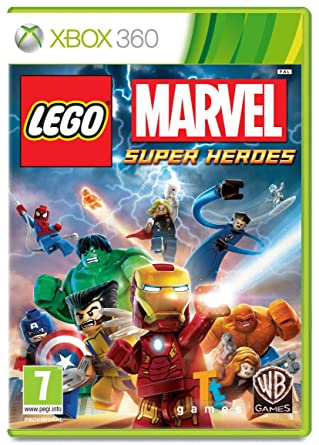 LEGO Marvel Super Heroes (Xbox 360): Amazon.co.uk: PC & Video Games