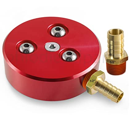 Amazon.com: Fuel Tank Sump Kit for Diesel or Gasoline Fuel Tanks - Red Anodized: Automotive