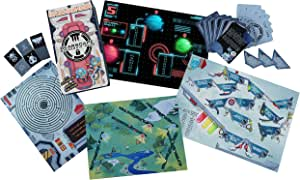 Bearscape Spaceship Octo - Escape Room Experience in a Box, #1 Educational Puzzle Board Games
