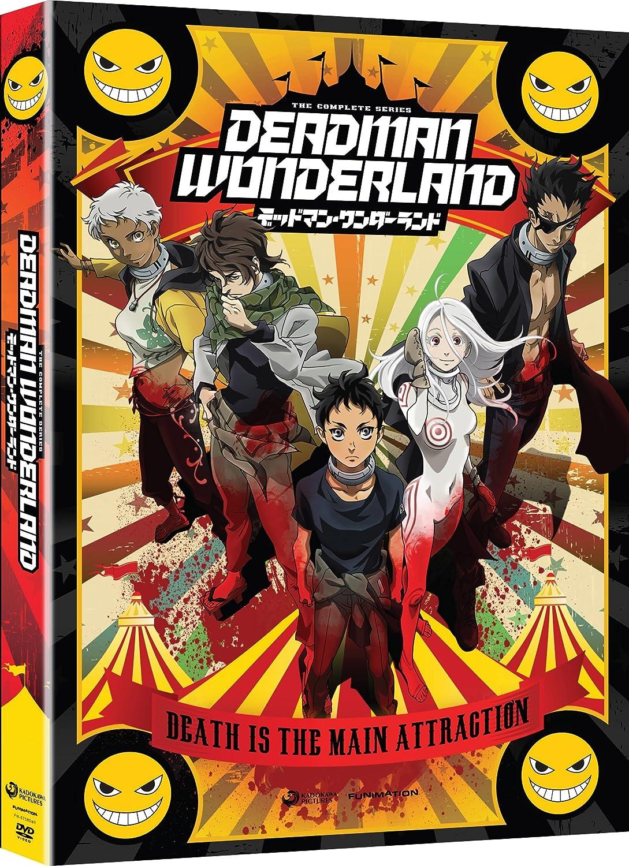 Amazon.com: Deadman Wonderland: Complete Series: Greg Ayres ...