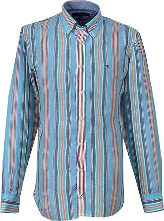Tommy Hilfiger hombres camisa de lino Holden 0887811037: Amazon.es: Ropa y accesorios