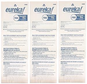 Genuine Eureka F&G Disposable Dust Bag 52320C-6 - 3 pack