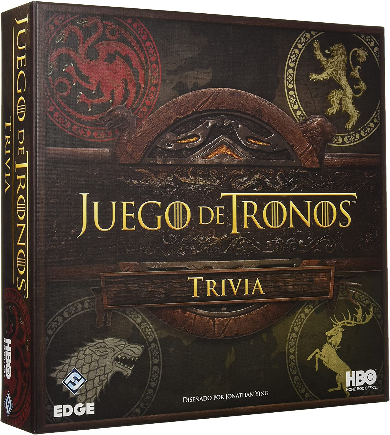 Fantasy Flight Games Juego de Tronos Trivia (FFHBO10): Amazon.es ...