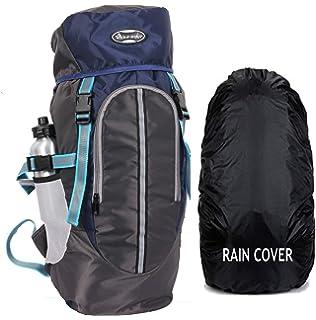 79df651fe8e POLE STAR Hike Grey Rucksack with RAIN Cover/Trekking/Hiking  BAGPACK/Backpack Bag