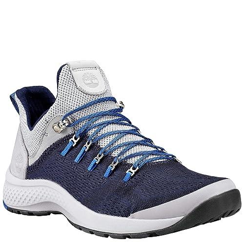 85e3de67cb00 Timberland Men s FlyRoam Trail Low Navy Sneakers-7.5 UK India (41.5 ...