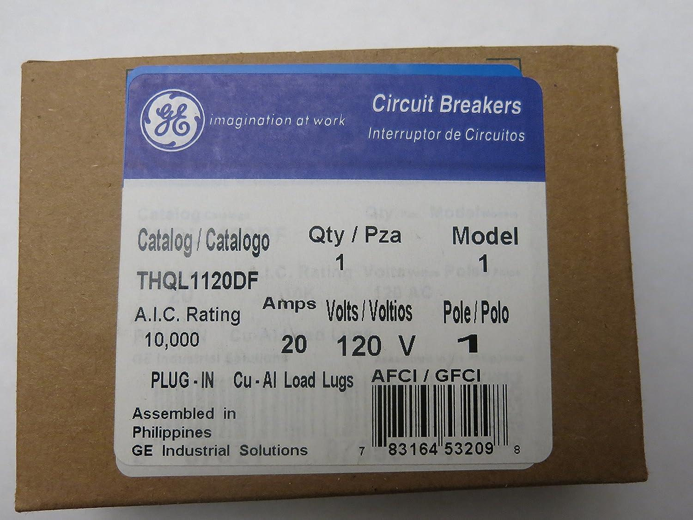 THQL1120DF Dual Function GFCI//AFCI,