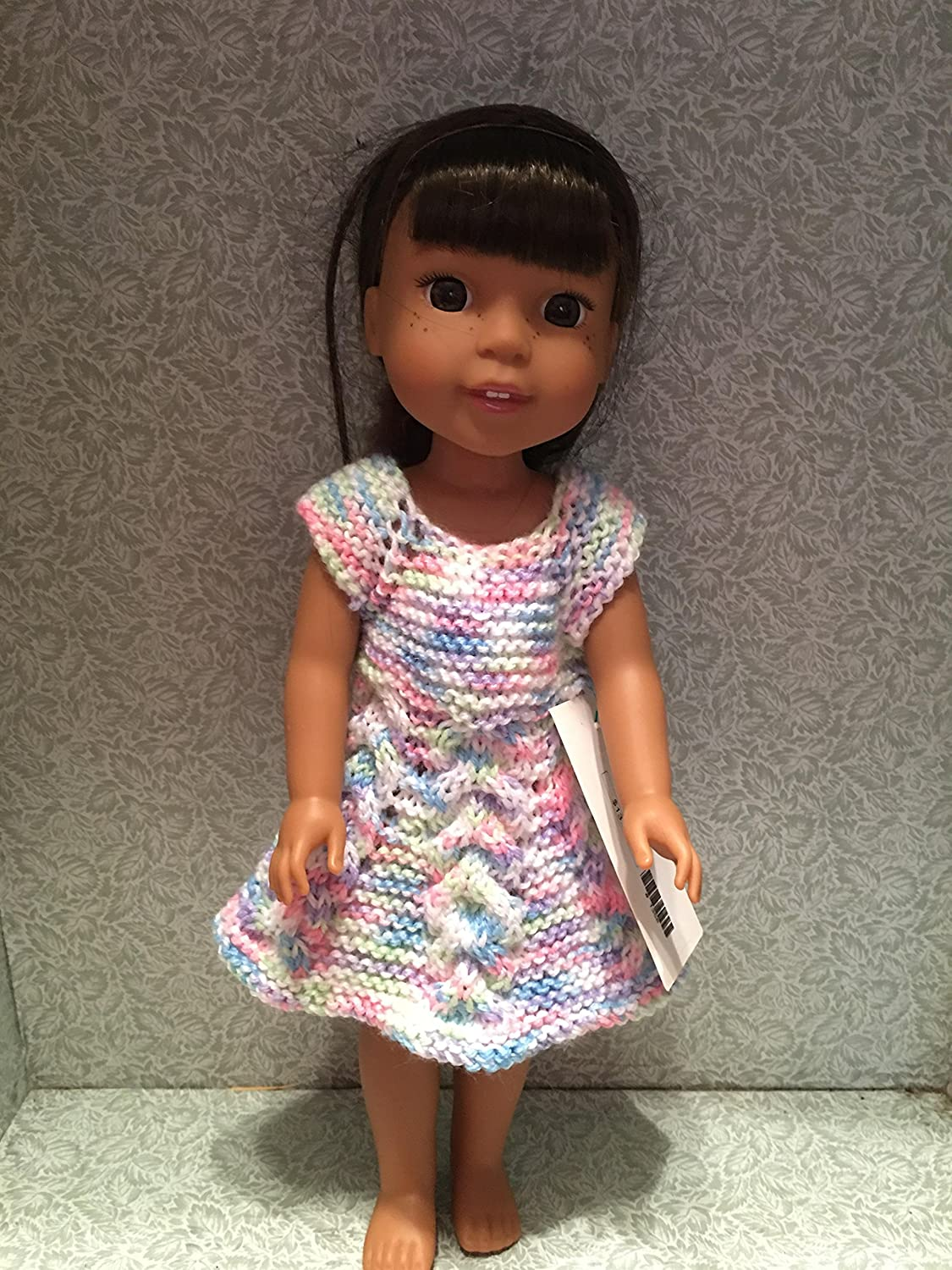Wellie Wisher Hand Knitted Dress
