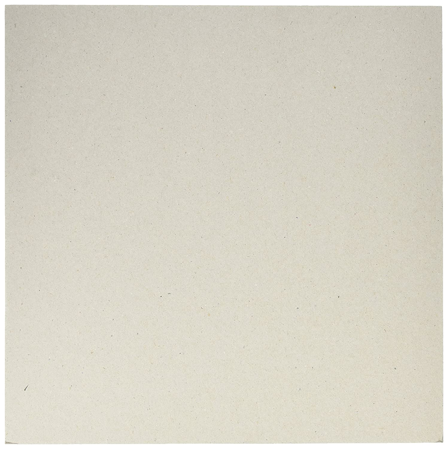 American Crafts 303181 Bazzill Chipboard Sheets, 12 by 12, Beige (Pack of 25) 12 by 12