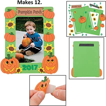 Halloween And Fall 2020 Picture Frames Amazon.com: 2020 Dated Pumpkin Patch Picture MagCraft Kit