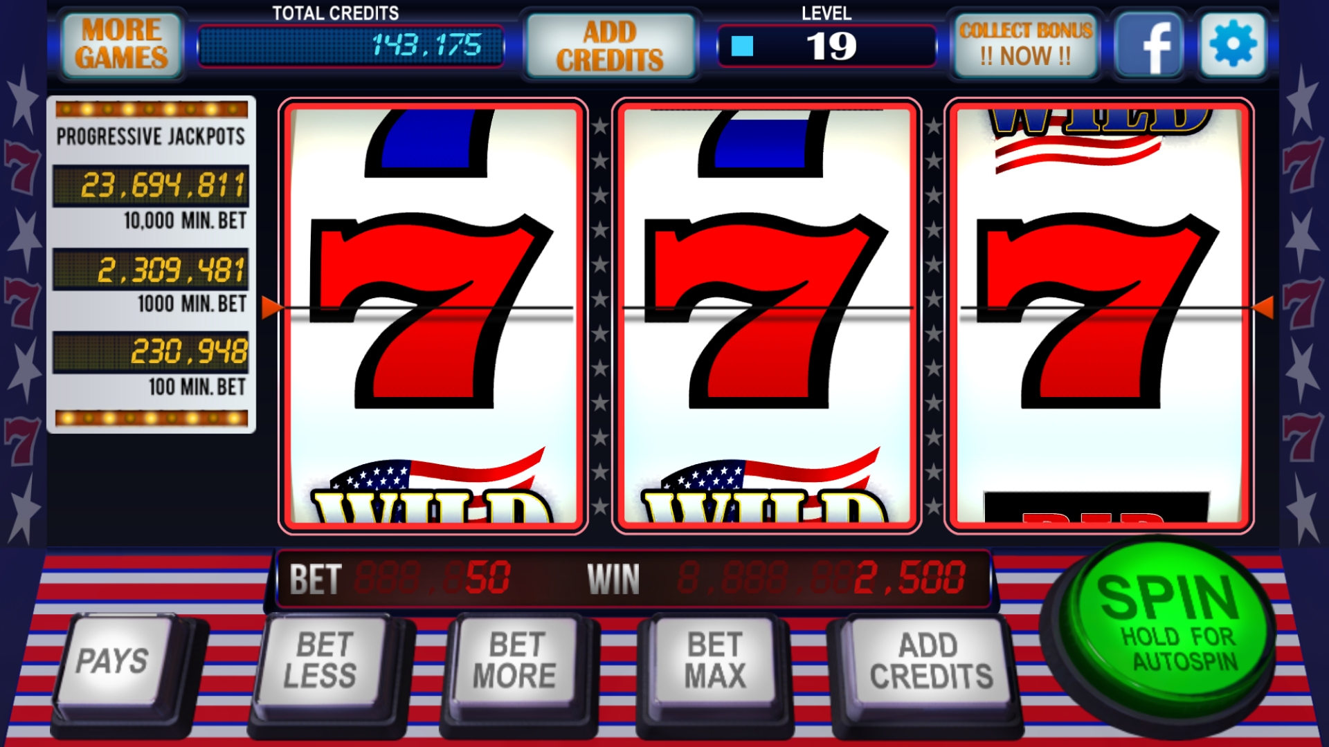 Spiele 777 Vegas - Video Slots Online
