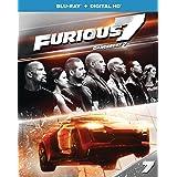 Furious 7 [Blu-ray + Digital HD] (Bilingual)