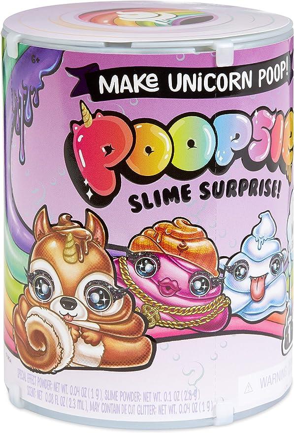 Poopsie Slime Surprise - série 2 - Make Unicorn Poop - Contient 10 Magique Surprise - 1pcs ramdom - Neuf
