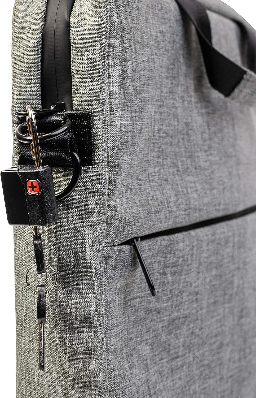 Light Grey, Man computer bag ZERO smell proof bag