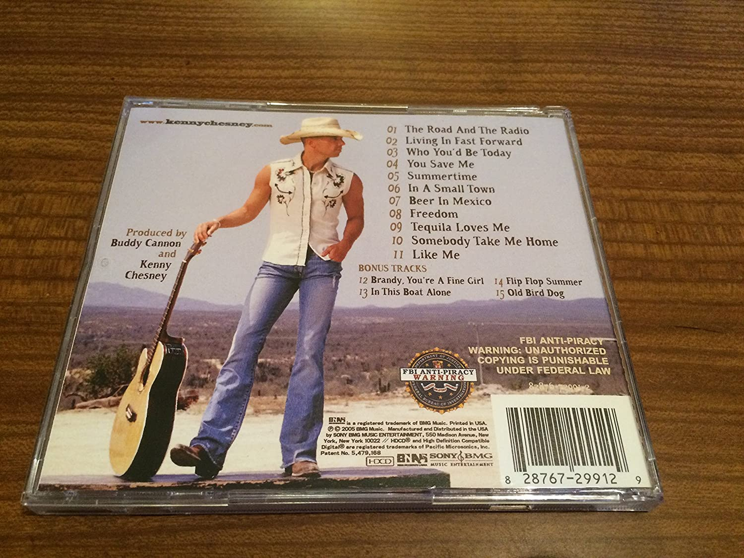 Kenny Chesney - The Road And The Radio (Target Limited Edition ...