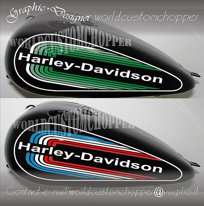 Aufkleber Für Motorrad Tank Harley Davidson Softail Auto